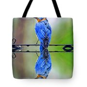Bath Time Reflection Tote Bag
