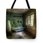 Bath With A View Tote Bag