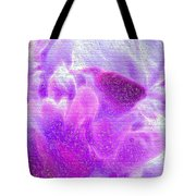Bathed In Purple Tote Bag