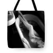 Bather At Window Tote Bag