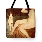 Bathers On Seine Tote Bag