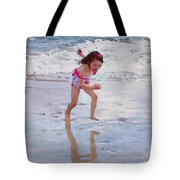 Bathing Beauty Running Tote Bag