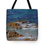 Bathing In The Sea - La Coruna Tote Bag