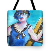 Bathing Suit Beauty Poster Tote Bag