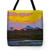 Bathouse Sunset Tote Bag