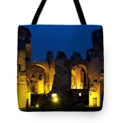 Baths Of Caracalla Tote Bag