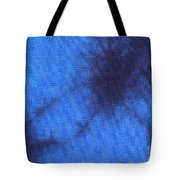 Batik In Blue Shades Tote Bag