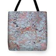 Batik-marble Tote Bag