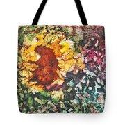 Sunflower Surprise Tote Bag by Diane Fujimoto