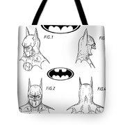 Batman Face Guard Tote Bag