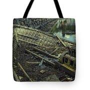 Battered Boat  Tote Bag