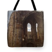 Battered But Standing Tote Bag