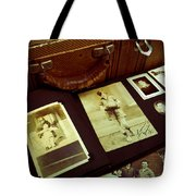 Battered Suitcase Of Antique Photographs Tote Bag