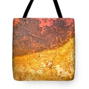 Battered To Rust Tote Bag