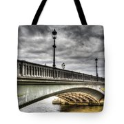 Battersea Bridge London Tote Bag