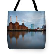Battersea Power Plant. Tote Bag