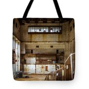 Battersea Power Station Interior Tote Bag