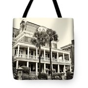 Battery Carriage House Inn Tote Bag