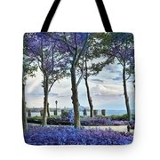 Battery Park In The Spring Tote Bag
