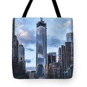Battery Park Walk Tote Bag