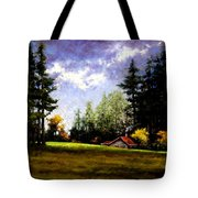 Battle Ground Park Tote Bag