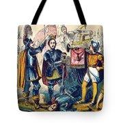 Battle Of Bosworth, Henry Vii Crowning Tote Bag