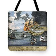 Battle Of Bunker Hill, 1775 Tote Bag
