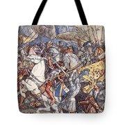 Battle Of Fornovo, Illustration Tote Bag