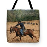 Battle Of Franklin - 4 Tote Bag by Kae Cheatham