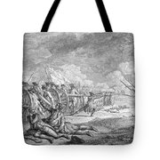 Battle Of Lexington, April 19th 1775, From Recueil Destampes By Nicholas Ponce, Engraved Tote Bag