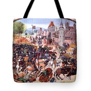 Battle Of Nevilles Cross 1346 Tote Bag