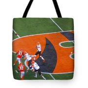 Battle Of Ohio Watercolor Tote Bag by Dan Sproul