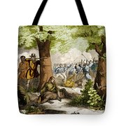 Battle Of Oriskany, 1777 Tote Bag