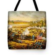 Battle Of Stones River Tote Bag