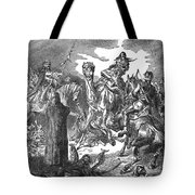 Battle Of The Camel, 656 Tote Bag