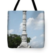 Battle Of Yorktown Monument Tote Bag