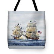 Battle Sail Tote Bag
