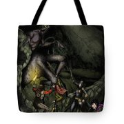 Battle With The Taratulamon King Tote Bag