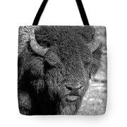 Battle Worn Bull Tote Bag