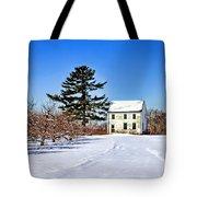 Battlefield Farm House Tote Bag