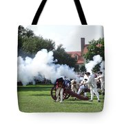 Battlelines Drawn Tote Bag