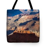 Battleship Rock At The Grand Canyon Tote Bag