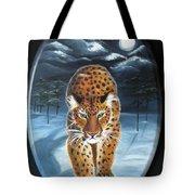 Batukhan Snow Leopard Tote Bag