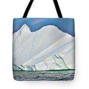 Batwing Iceberg In Saint Anthony Bay-newfoundland-canada  Tote Bag