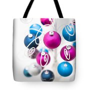 Baubles From Above Tote Bag by Anne Gilbert