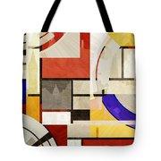 Bauhaus Rectangle Three Tote Bag