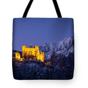 Bavarian Castle Tote Bag by Brian Jannsen