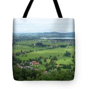 Bavarian Green Valley Tote Bag