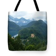 Bavarian Lake With Castle Tote Bag