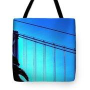 Bay Bridge 19702 Tote Bag